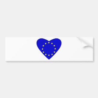 Liefde Europa Bumpersticker