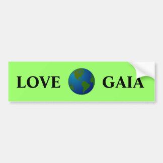 Liefde Gaia Bumpersticker