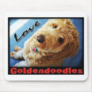 Liefde Goldendoodles Muismatten