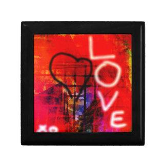 Liefde Graffiti Decoratiedoosje