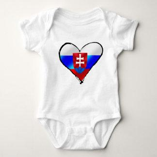 Liefde I van Slowakije de giften van hartSlowakije Romper