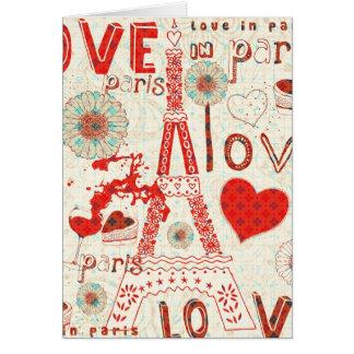 Liefde in de Bloemen en de Harten van de Toren Kaart