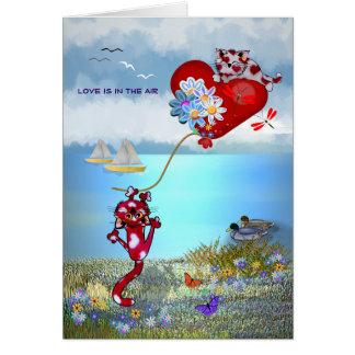 Liefde in de Lucht Wenskaart