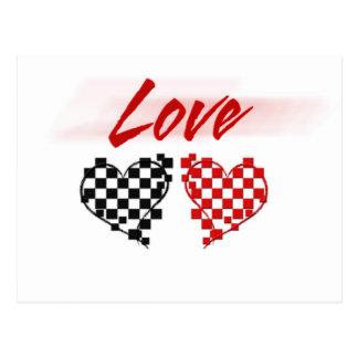 Liefde in de snelle steeg - voor ventilators briefkaart