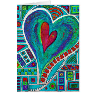 Liefde in Elke Kaart van de Nota van het Hart