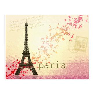 Liefde in Parijs Briefkaart