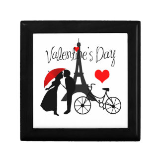 Liefde in Parijs Decoratiedoosje
