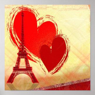 Liefde in Parijs Poster