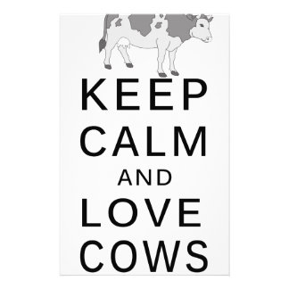liefde koeien briefpapier