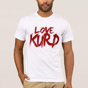 Liefde Koerd T Shirt