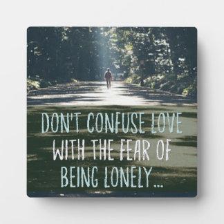 Liefde met de Vrees Fotoplaat