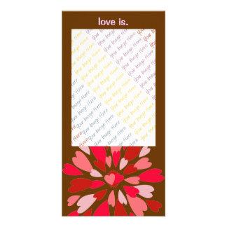 Liefde Mum Valentijn Persoonlijke Fotokaarten