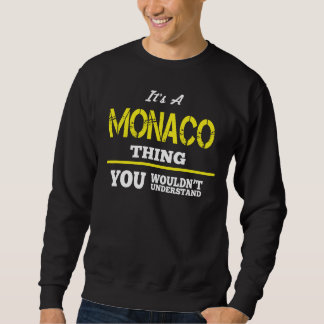Liefde om de T-shirt van MONACO te zijn