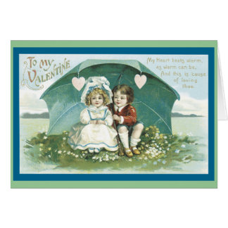 Liefde onder een Paraplu Briefkaarten 0