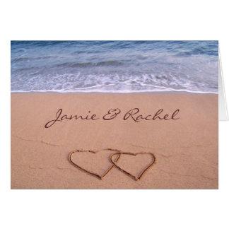 Liefde op de Kaart van het Strand