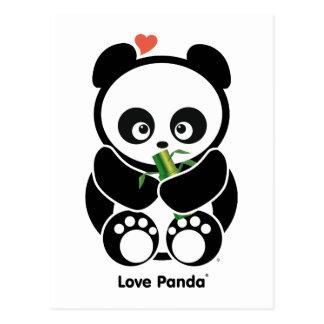 Liefde Panda® Briefkaart