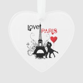 Liefde Parijs Ornament