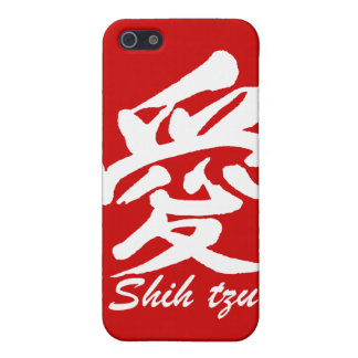 liefde shih tzu iPhone 5 cases