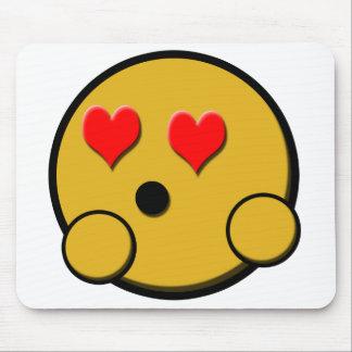 Liefde Smiley Mousepad Muismatten