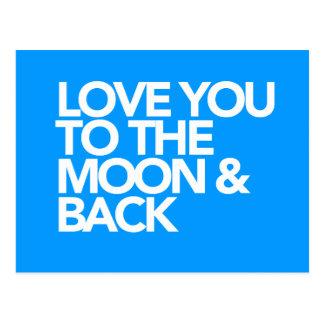 Liefde u aan de Maan & de AchterKLEUR van de Briefkaart