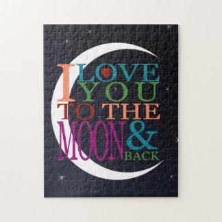 Liefde u aan de Maan & de Rug Puzzel