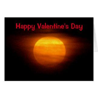 Liefde u aan de Maan en AchterValentijn Briefkaarten 0