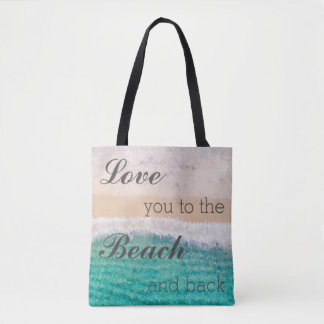 Liefde u aan het Strand & het AchterBolsa Draagtas