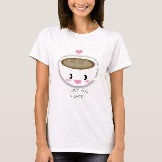 Liefde u een Latté T Shirt