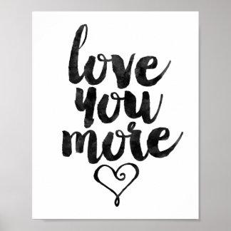 Liefde u meer poster