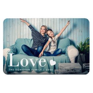 Liefde | Uw Persoonlijke Foto en een Hart Magneet