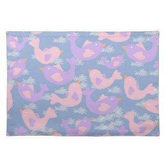 liefde vogels placemat