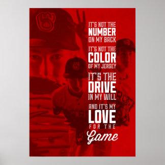 Liefde voor het Poster van het Spel met Uw
