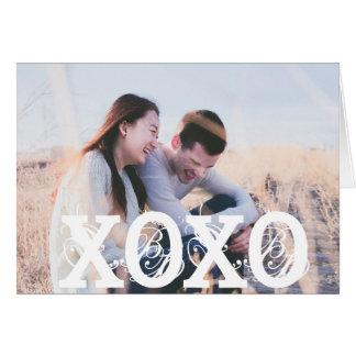 Liefde XOXO u de Liefje Gepersonaliseerde Kaart
