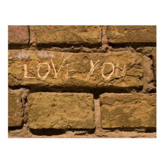 liefde you_bricks briefkaart