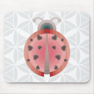 lieveheersbeestje liefde muismatten