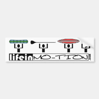LifeinMotion_Bumpersticker Bumpersticker