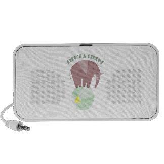 Lifes een Circus iPod Speakers