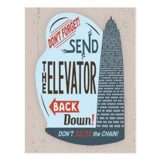 Lift Briefkaart