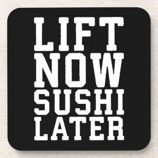 Lift nu, Gymnastiek van de Nieuwigheid van Sushi Drankjes Onderzetters
