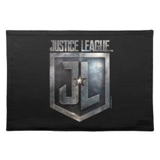 Liga   Metaal van de rechtvaardigheid Schild JL Placemat