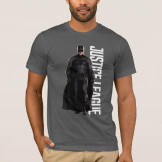Liga | van de rechtvaardigheid Batman op Slagveld T Shirt
