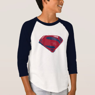 Liga | van de rechtvaardigheid Borstel & Halftone T Shirt