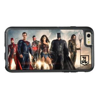 Liga | van de rechtvaardigheid de Liga van de OtterBox iPhone 6/6s Plus Hoesje