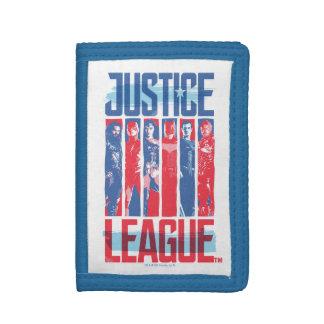 Liga   van de rechtvaardigheid het Blauwe & Rode