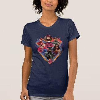 Liga | van de rechtvaardigheid het Kenteken van de T Shirt