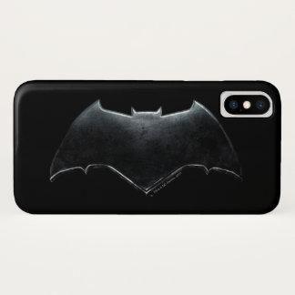 Liga | van de rechtvaardigheid het MetaalSymbool iPhone X Hoesje