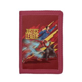 Liga   van de rechtvaardigheid Superman, Flits, &