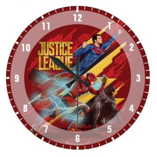 Liga   van de rechtvaardigheid Superman, Flits, & Grote Klok
