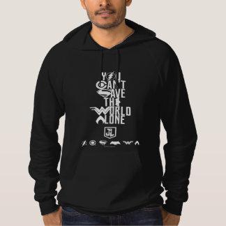 Liga | van de rechtvaardigheid u kan niet de hoodie