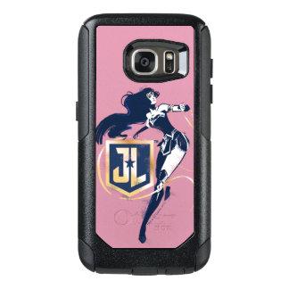 Liga | van de rechtvaardigheid Wonder Vrouw & het OtterBox Samsung Galaxy S7 Hoesje